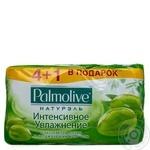 Мыло Palmolive Натурэль Интенсивное увлажнение с экстрактом оливы и увлажняющим молочком 5 шт.