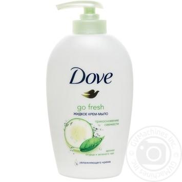 Жидкое крем-мыло Dove Прикосновение свежести 250мл