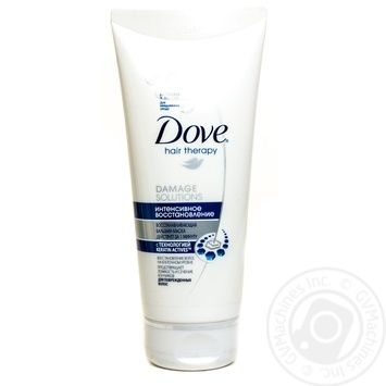 Бальзам-маска Dove Hair Therapy для волос Интенсивное восстановление 180мл - купить, цены на Novus - фото 1
