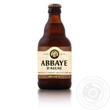 Пиво Abbaye D'aulne brune 0,33л