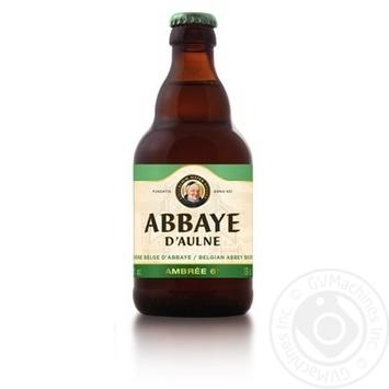 Beer Abbaye light 6% 330ml glass bottle