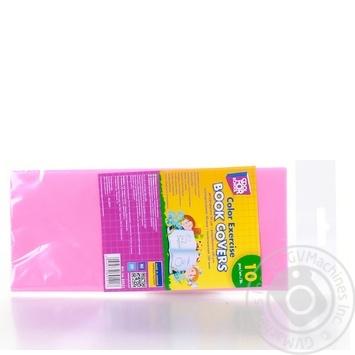 Обкладинки Cool For School для зошитів кольорові 10шт - купити, ціни на Метро - фото 4