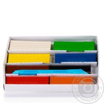 Пластилін ZiBi 8 кольорів 200г - купити, ціни на CітіМаркет - фото 5