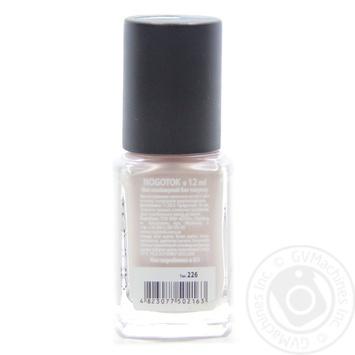 Лак Nogotok Style color №226 12мл - купити, ціни на Novus - фото 2