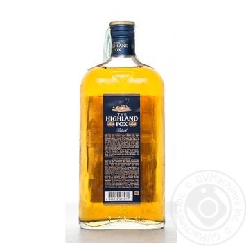 Настойка The Highland Fox Black 38% 0,5л - купить, цены на Novus - фото 2