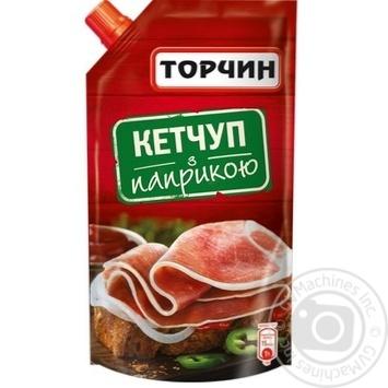Скидка на Кетчуп Торчин С паприкой 300г