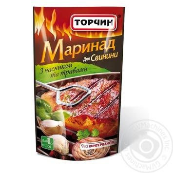 Маринад Торчин для свинины с чесноком и травами 175г
