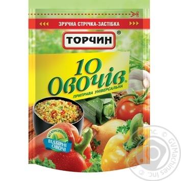 Скидка на Приправа Торчин 10 овощей универсальная 170г