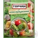Приправа Торчин Для консервирования огурцов и помидоров 25г
