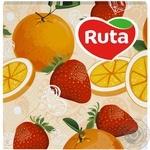 Серветки Ruta Art Кухня Мікс двошарові 33х33см 20шт в асортименті - купити, ціни на ЕКО Маркет - фото 6