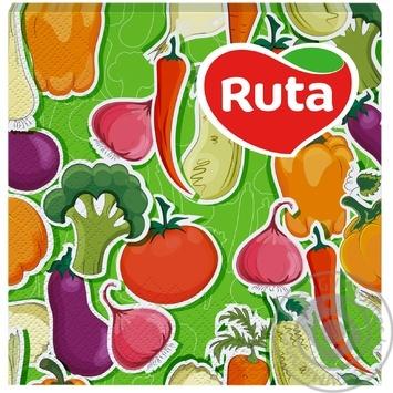 Салфетки Ruta Art Кухня Микс двухслойные 33х33см 20шт в ассортименте - купить, цены на ЕКО Маркет - фото 3