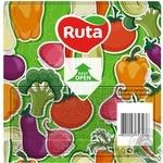 Серветки Ruta Art Кухня Мікс двошарові 33х33см 20шт в асортименті - купити, ціни на ЕКО Маркет - фото 7