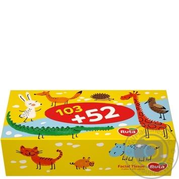 Ruta Kids Cosmetic towels 155pcs - buy, prices for MegaMarket - image 1