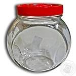 Everglass glass jar