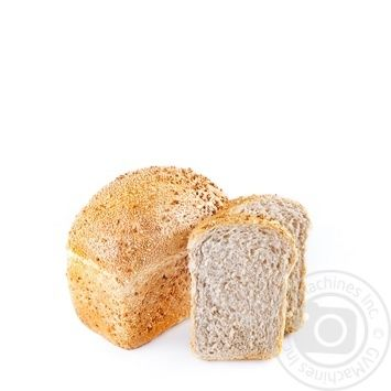 Хлеб ржано-пшеничный без дрожжей 300г