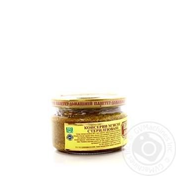 Паштет Онісс Домашній з вершковим маслом 200г - купити, ціни на Novus - фото 2