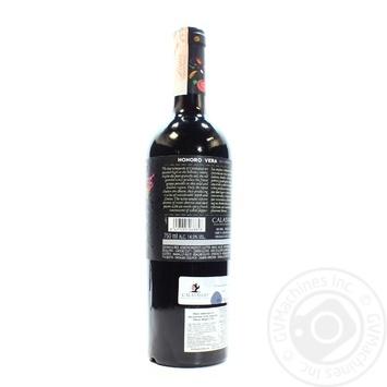 Honoro Vera Garnacha Red Dry Wine 14.5% 0.75l - buy, prices for CityMarket - photo 2