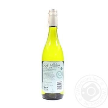 Satellite Sauvignon Blanc White Dry Wine 13% 0.75l - buy, prices for CityMarket - photo 2