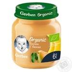 Gerber Organic for babies pear-banana puree 125g