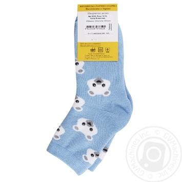 Носки Легкая Походка детские голубые 14-16р - купить, цены на МегаМаркет - фото 2