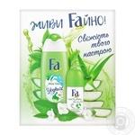 Набір Fa Крем-гель для душу Yoghurt 250мл+Антиперспірант Natural&Pure 50мл