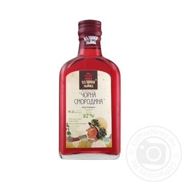 Nalyvky zi Lvova Black currant tincture 27% 0,2l - buy, prices for Novus - image 1