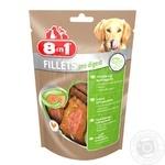 Treats for dogs 8in1 Fillets Chicken fillet  for sensitive digestion 80g