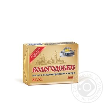 Slaviya Volohodske Creamy-Sweet Butter - buy, prices for Furshet - image 1