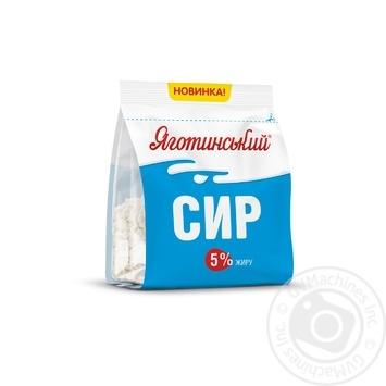 Yagotynske cottage cheese 5% 350g - buy, prices for MegaMarket - image 1
