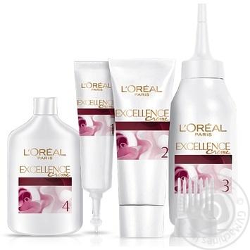 Крем-краска для волос L'Oreal Excellence Creme 9.1 очень светло-русый, пепельный - купить, цены на Novus - фото 2