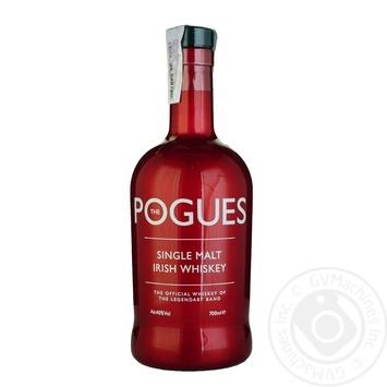 Виски Pogues односолодовый 40% 0,7л - купить, цены на СитиМаркет - фото 1