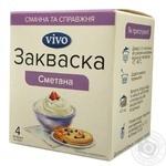 Закваска бактериальная Vivo Сметана 0.5г x 4шт