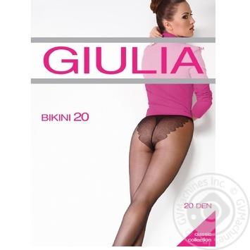 Колготы женские Giulia Maya Bikini 20D 4 Nero - купить, цены на Novus - фото 1