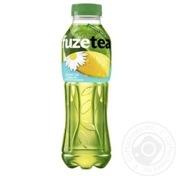 Напиток Fuzetea Чай зеленый со вкусом манго и ромашки безалкогольный негазированный 500мл - купить, цены на Таврия В - фото 1