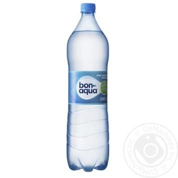 Вода BonAqua минеральная негазированная 1,5л - купить, цены на Novus - фото 1