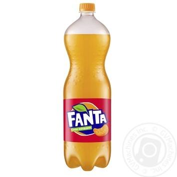 Напиток Fanta со вкусом мандарина безалкогольный сильногазированный 1,5л - купить, цены на Novus - фото 1
