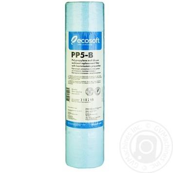 Картридж Ecosoft PP5-B из вспененного полипропилена с бактериостатическими свойствами 2,5*10