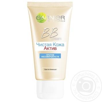 Крем Garnier BB Cream Skin Naturals для жирной кожи склонной к появлению прыщей  50мл - купить, цены на Novus - фото 3