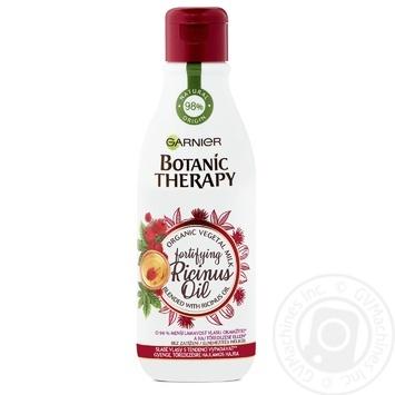 Маска-молочко Garnier Botanic Therapy Касторовое масло для слабых склонных к выпадению волос 250мл - купить, цены на Novus - фото 4