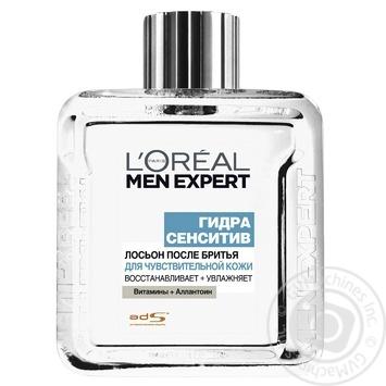 Лосьон L'Oreal Men Expert Гидра сенситив после бритья 100мл - купить, цены на Метро - фото 2