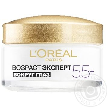 L'oreal Anti-Age 55+ For Eye Day Cream - buy, prices for Novus - image 6