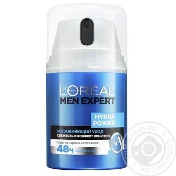 Зволожуючий засіб L'oreal Paris Men Expert Hydra Power з освіжаючим ефектом для обличчя 50мл - купити, ціни на Novus - фото 2