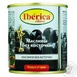 Iberica Chika Pitted Black Olives 200ml - buy, prices for MegaMarket - image 2
