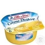 Десерт сливочный Elle&Vire ваниль 2,7% 100г