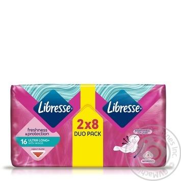 Прокладки гигиенические Libresse Ultra Long 5 капель 16шт - купить, цены на Восторг - фото 3