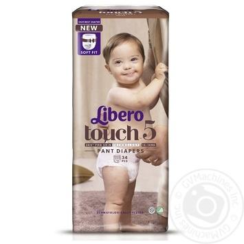 Подгузники-трусики Libero Touch 5 10-14кг 36шт - купить, цены на Восторг - фото 2