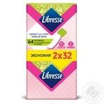 Прокладки ежедневные Libresse Daily fresh Normal 64шт - купить, цены на Ашан - фото 2