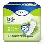 Прокладки Tena Lady Slim Mini урологічні 10шт - купити, ціни на CітіМаркет - фото 7