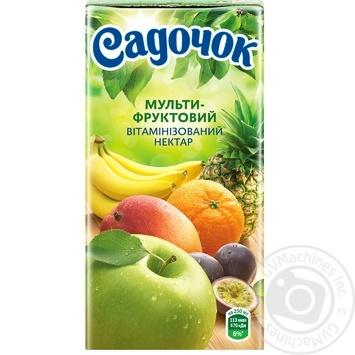 Нектар Садочок мультифруктовый 0,5л - купить, цены на Novus - фото 4