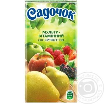 Сок Садочок мультивитаминный 0,5л - купить, цены на Фуршет - фото 3